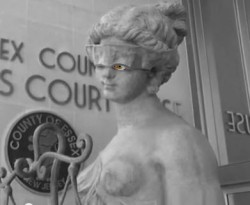 lady justice eyes